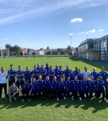 L'Equipe de rugby de l'armée de l'air et de l'espace nous a rendu visite !
