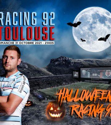 Venez fêter Halloween avec le Racing 92 à Paris La Défense Arena